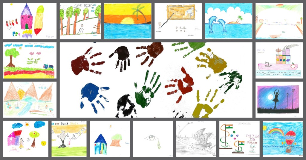 Paintings done by InKnowTechinas Children